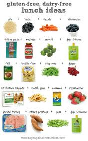 gluten and lactose free lunch ideas