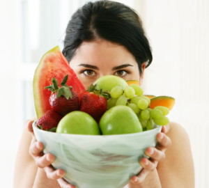 lower cholesterol with fresh fruit - don't starve yourself