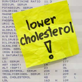 lower cholesterol now