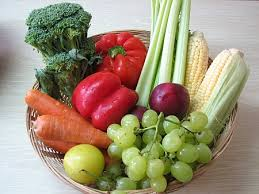 Diet for Pregnant Women a basket of fruit and vegetables